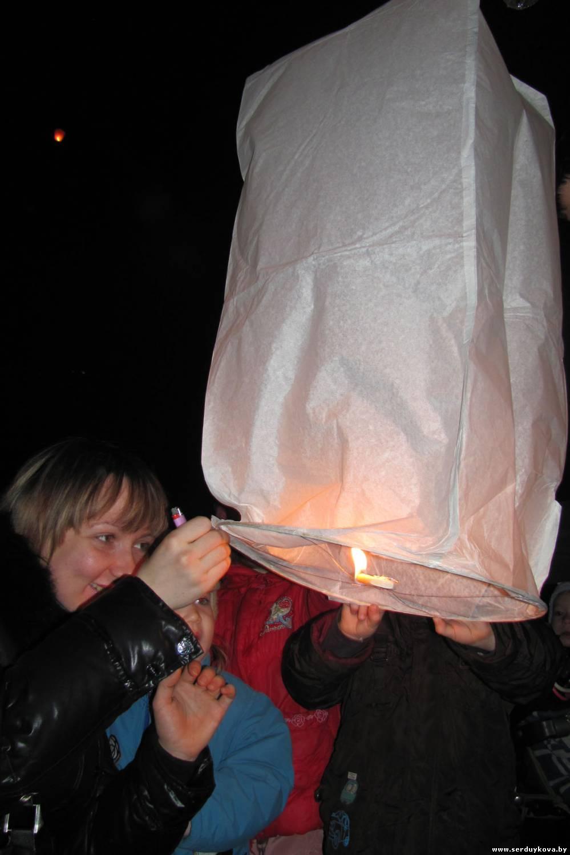 фото 6 Запуск Небесных фонариков счастья