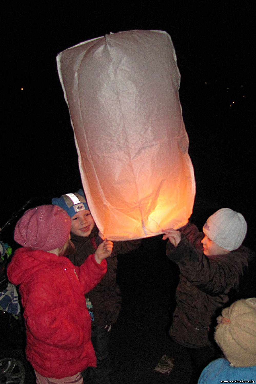 фото 7 Запуск Небесных фонариков счастья