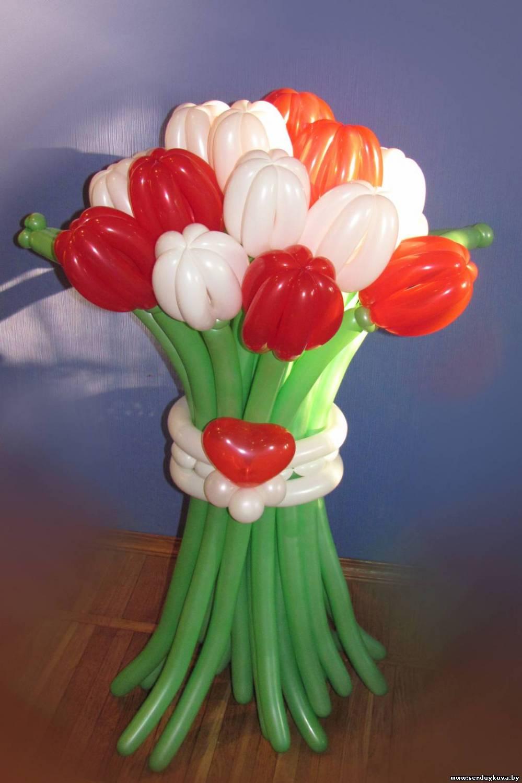 """Букет 19 тюльпанов - """"Признание в любви"""" №01"""