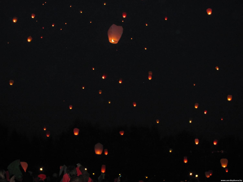 фото 2 Запуск Небесных фонариков счастья