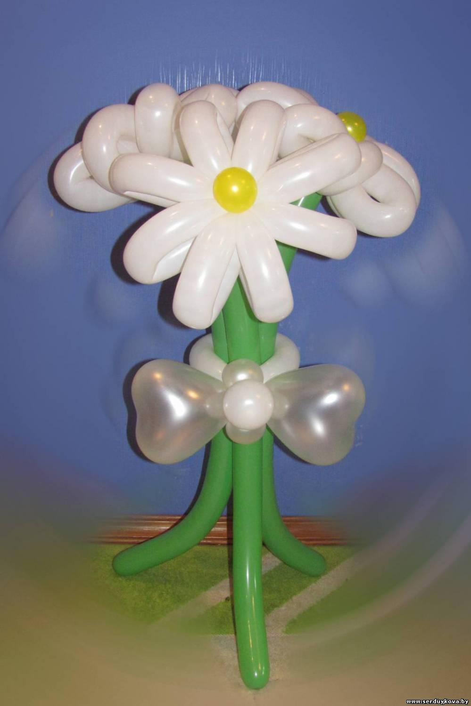 Цветы поделки из воздушных шаров