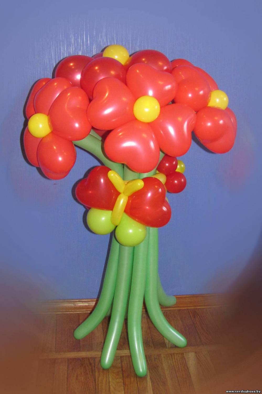 Букет из шаров отличный подарок
