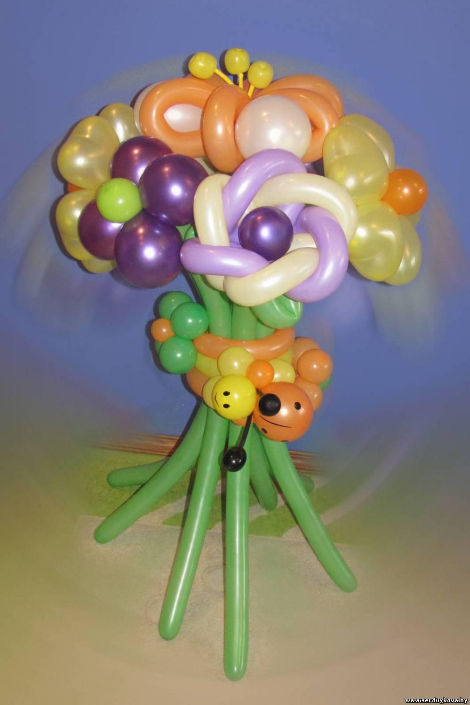 Бант из воздушных шаров своими руками 67