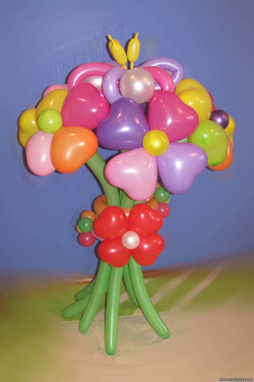 Фото цветы и шарики