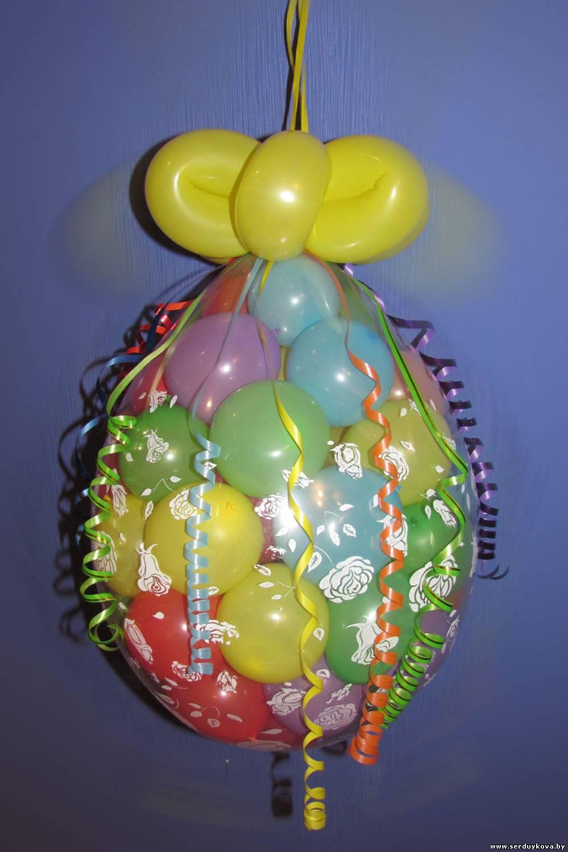 Как сделать много шаров в шаре