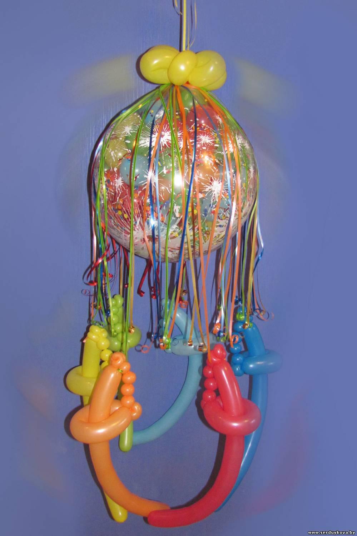 Как сделать сабля из шарика
