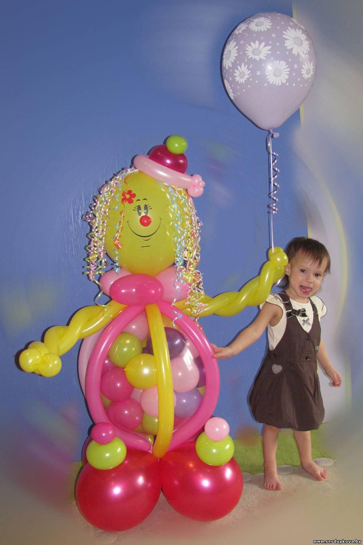 Делаем фигуры из воздушных шаров фото