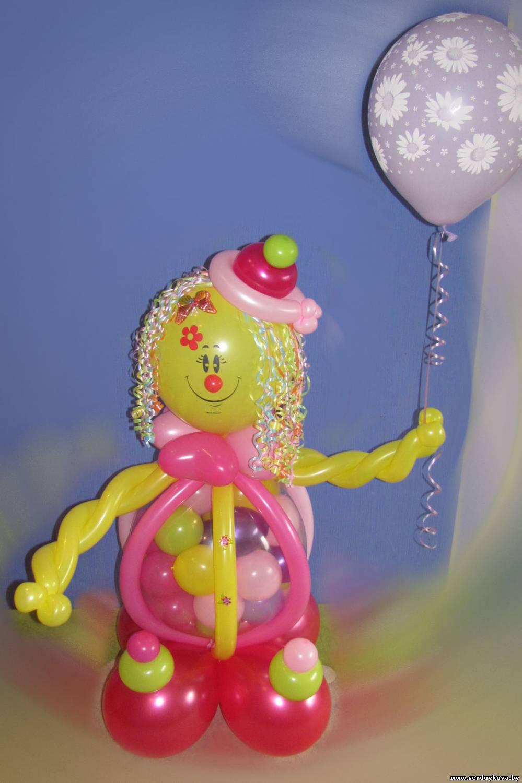 Фигуры с воздушных шаров своими руками
