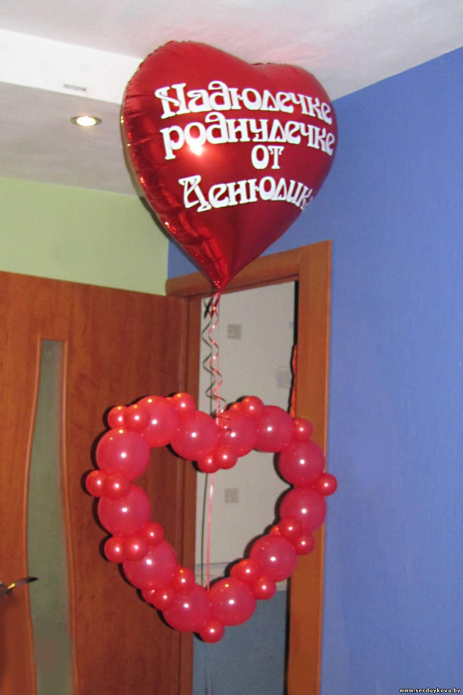 Надпись на воздушном шарике поздравление